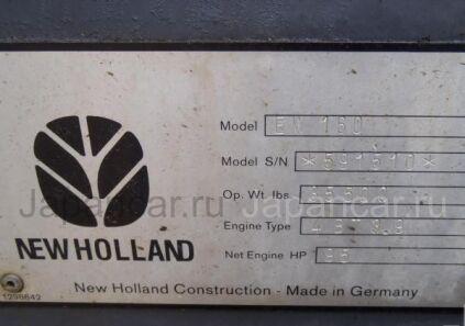 Экскаватор колесный NEW HOLLAND EW160 2000 года во Владивостоке