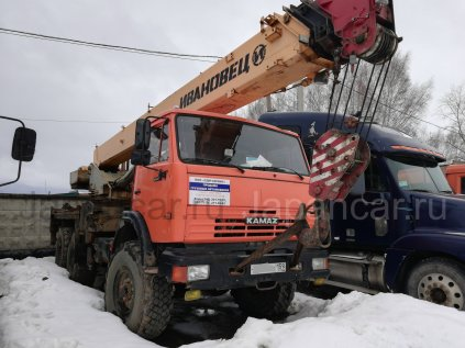 Автокран КАМАЗ КС-45717 Ивановец 2013 года в Перми