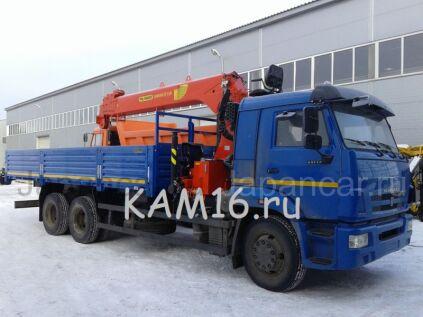 Бортовой+кран КАМАЗ 65117 с КМУ Инман-Palfinger 2020 года в Набережных Челнах