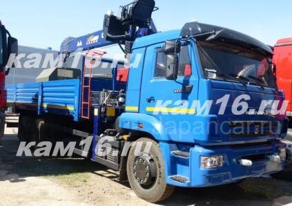 Грузовик с крановой установкой КАМАЗ 65117-3010-23 с кму Daehan 2020 года в Набережных Челнах