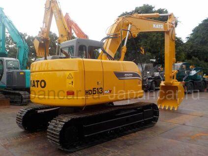 Экскаватор KATO HD513MRV 2011 года в Японии