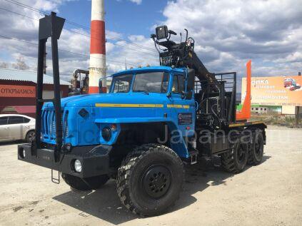 Лесовоз УРАЛ 55571 2019 года в Красноярске