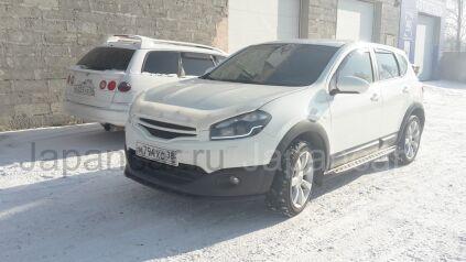 Накладка на бампер на Nissan Qashqai в Иркутске