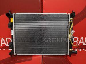 Радиатор двигателя на Kia Rio UB