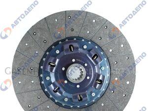 Диск сцепления на Mitsubishi FUSO, FUSO SUPER GREAT FP50JDR, FP50JER, FP50JGR, FP55JDR, FP55JER, FP50 8M21, 6M70, 8M20 170152