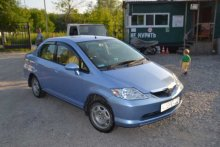 HONDA FIT ARIA 2003 года