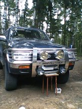 TOYOTA HILUX SURF 1993 года