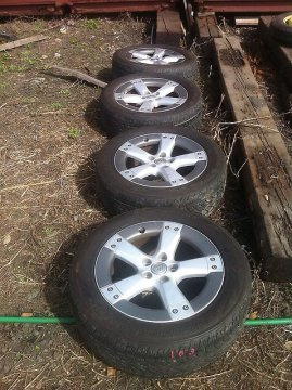 Комплект колес 235/55 R18, AIR-S, Harrier, RX330 Yokohama