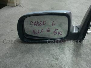 Зеркало на Toyota Passo KGC10