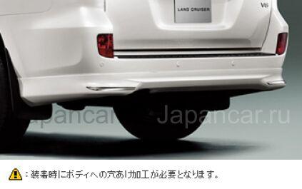Спойлер на Toyota Land Cruiser 200 во Владивостоке