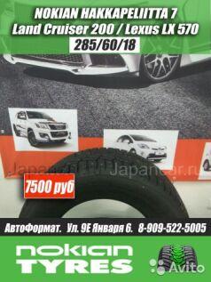 Зимние шины Nokian Hakka 7 285/60 18 дюймов б/у в Кемерово