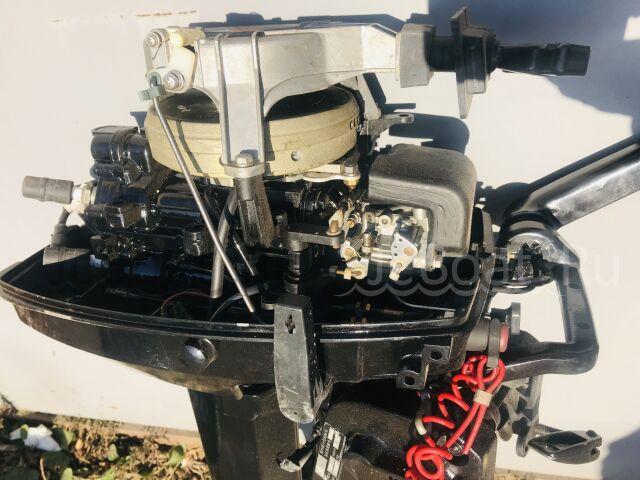 мотор подвесной TOHATSU TOHATSU 9.8, нога S (381 мм) 2001 года