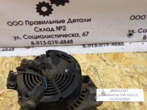 Генератор на Volkswagen Golf MK3 0123310002