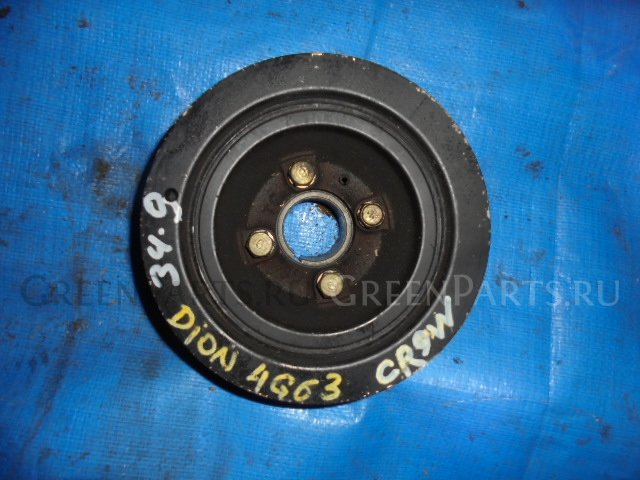 Шкив коленвала на Mitsubishi Dion CR9W 4G63