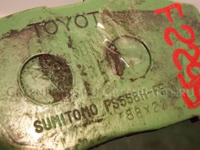 Тормозные колодки на Toyota Corolla ZZE122 1ZZ-FE