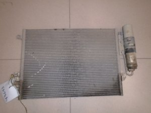 Радиатор кондиционера на Renault Logan 1 2005-2014 1.6 87л.с. K7MF / МКПП Седан 2008г(до рестайл.) RTA5317
