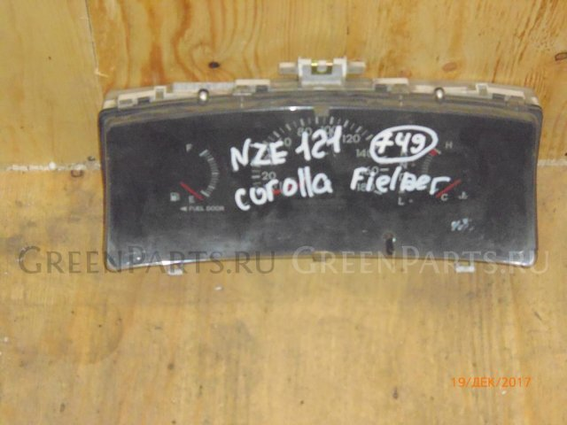 Панель приборов на Toyota Corolla Fielder 2000-2006 NZE121 838001H030,1575103452