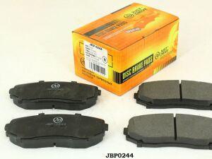 Колодки тормозные на Mazda Cx-7 ER3P JBP0244