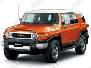 Клык бампера на Toyota FJ Cruiser GSJ10L;GSJ15L