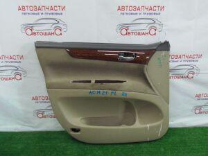 Обшивка дверей на Toyota Ipsum ACM21 86