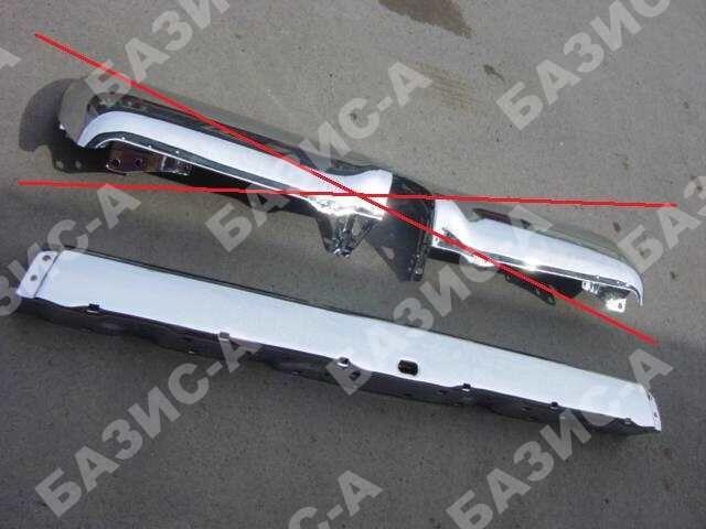 Бампер на Toyota Hilux Surf VZN130G;YN130G;LN130G;LN130W;KZN130G;KZN130W