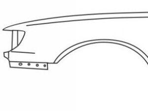 Крыло на Toyota Camry V10