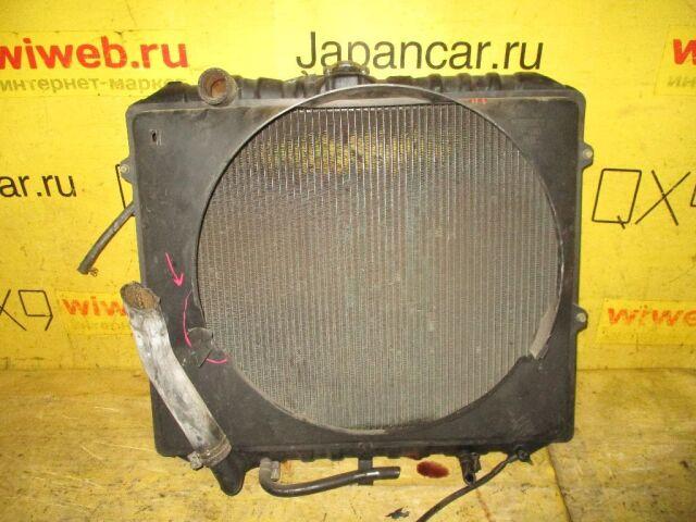 Радиатор двигателя на Mitsubishi Pajero V25W 6G74