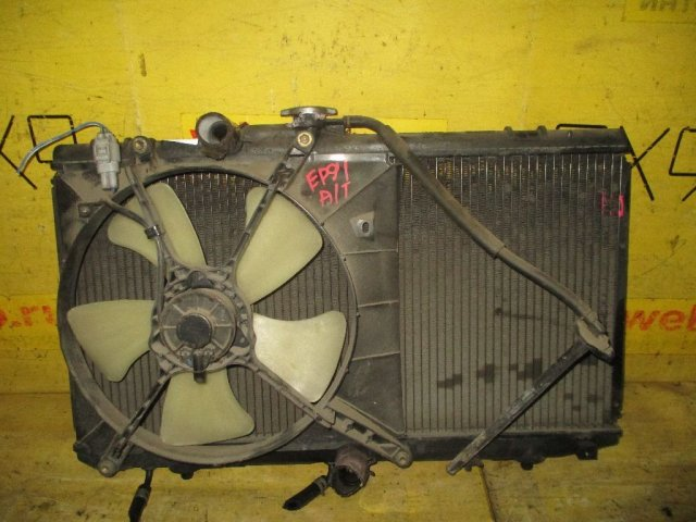Вентилятор радиатора ДВС на Toyota Starlet EP91 4E-FE