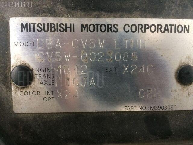 Подкрылок на Mitsubishi Delica D5 CV5W 4B12