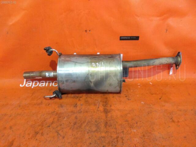 Глушитель на Honda Stream RN1 D17A