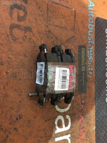 Тормозные колодки на Toyota Vitz NCP10 2NZ-FE
