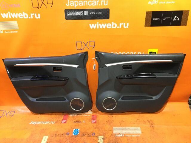 Обшивка двери на Suzuki Wagon R MH23S