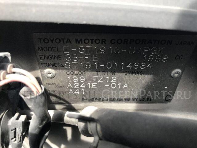 Тормозные колодки на Toyota Prius NHW10
