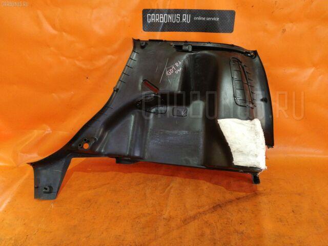 Обшивка багажника на Honda Fit GD1