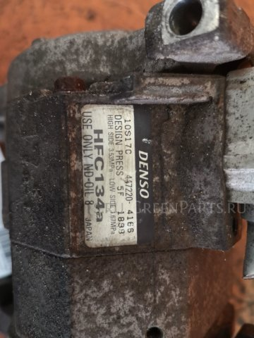 Компрессор кондиционера на Honda Stepwgn RF5 K20A