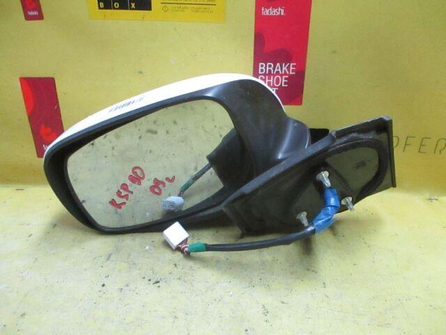 Зеркало двери боковой на Toyota Vitz KSP90