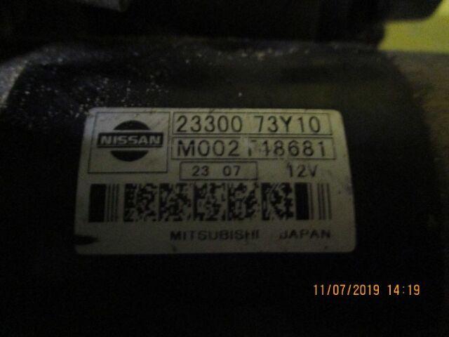 Стартер на Nissan Avenir VEW10 GA16DS