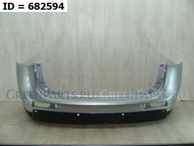 Бампер задний на Mitsubishi Outlander III (2012-2015) 5 дв.