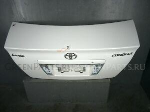 Крышка багажника на Toyota Corolla ZZE122 1ZZ-FE