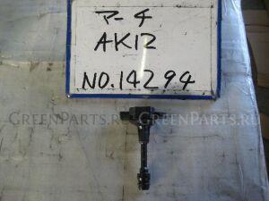 Катушка зажигания на Nissan March AK12 CR12DE
