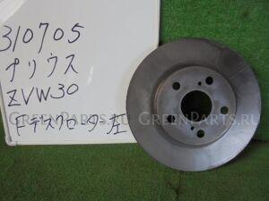 Тормозной диск на Toyota Prius ZVW30 2ZR-FXE
