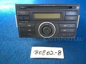 Автомагнитофон на Nissan Tiida C11 HR15DE