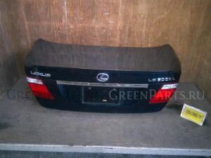 Крышка багажника на Toyota LEXUS LS UVF46 2UR-FSE