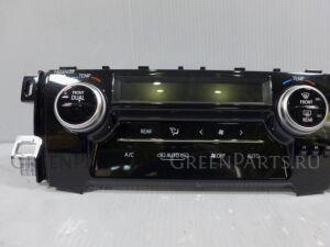 Блок управления климатконтроля на Toyota Alphard AGH30W 2AR-FE