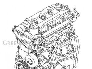 Двигатель на Mazda Familia VY12