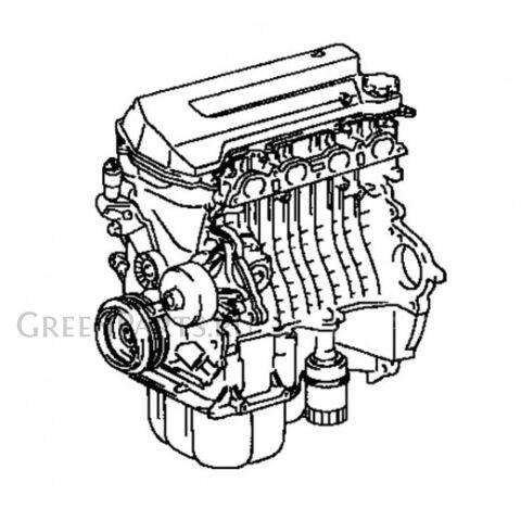 Двигатель на Toyota Opa ZCT10