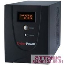 UPS CyberPower V 1200E LCD VALUE1200ELCD {1200VA/720W USB/RS-232/RJ11/45 (6 IEC С13)}