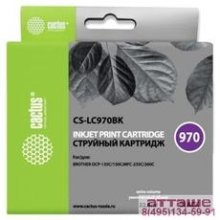 CACTUS  LC-970BK  Картридж  для Brother Brother DCP-135C/150C/MFC-235C/260C, (22.6мл), черный