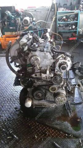 Двигатель на Nissan Presage TU30 QR25DE 107848КМ ЭЛЕКТРО БЕЗ ВЫПУСКНОГО КОЛЛЕКТОРА+КОМП+КО