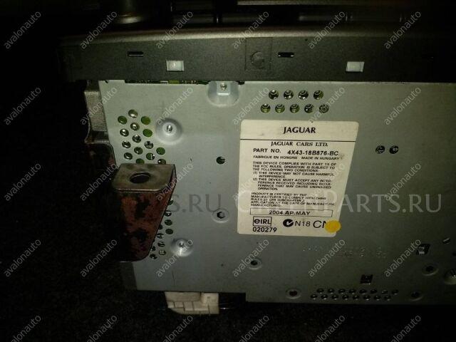 Магнитофон на Jaguar X-type X400 AJ20 1X4310E889KC